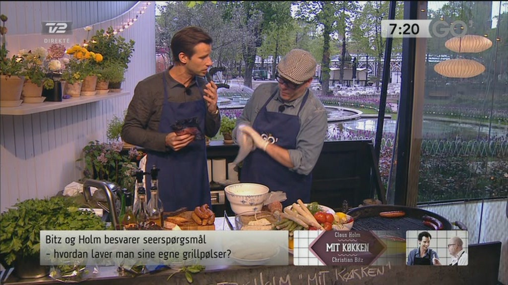 Mit k&oslash;kken: Den perfekte grillp&oslash;lse  Still