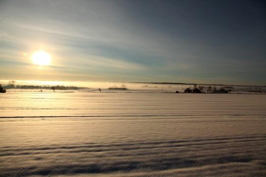 Morgendis over Holbæk fjord