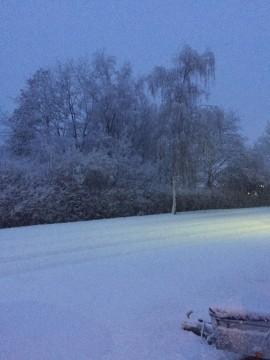 Snevejr i Vegger