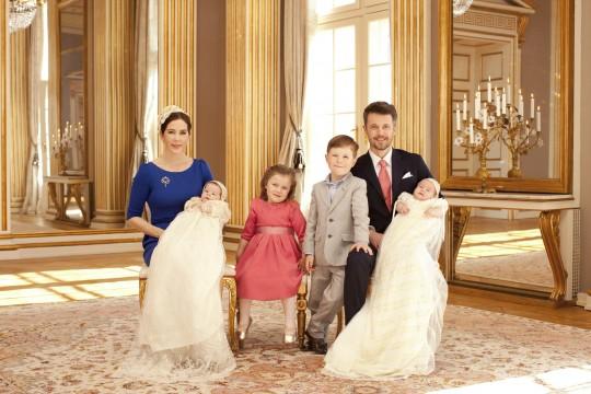 Kongelig barnedaab, 2011, kronprins frederik, kronprinsesse mary