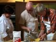 Kursisterne laver pasta