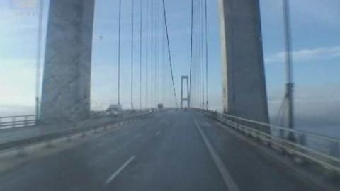 billeder oppe fra lillebæltsbroen