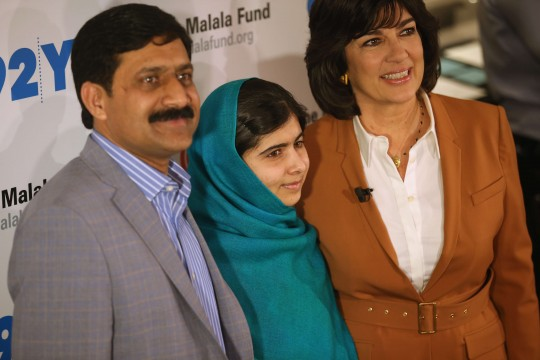 Malala Yousafzai Interviewed By Christiane Amanpour In New York