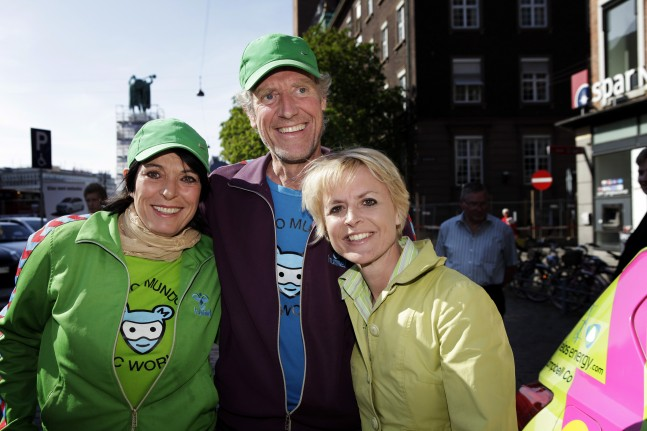 Nina Rasmussen, Hjalte Tin og Lykke Friis.