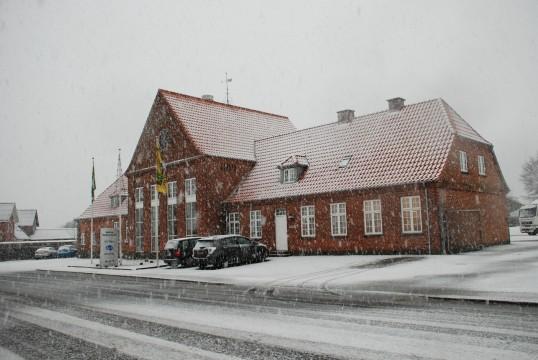 Sne vejr i Sønderup