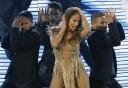 Jennifer Lopez' sexede show